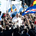 Pope Francis on the day of his inauguration
