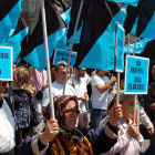 Protesters at the 2010 anti-nuclear protest in Istanbul, Turkey