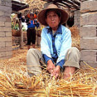 A farmer in China