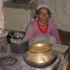 A woman in Nepal