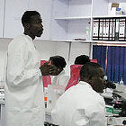 African scientists in Kenya