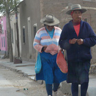 Habitantes de San Antonio de Los Cobres