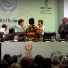 Delegates at COP-17