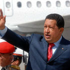 Hugo Chavez in Guatamala