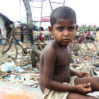 Urban Slum/New Delhi/India