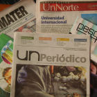 Colombian newspaper science supplements