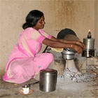 Cook stove, India