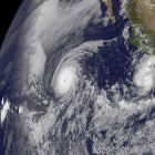 Cyclones over the Pacific