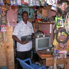 Electronics shop in Nairobi, Kenya