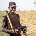 A farmer in Mali