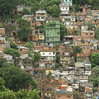 Favela on a slope