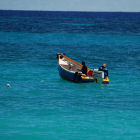 Fishermen in the Caribbean