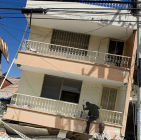 House destroyed by earthquake in Haiti