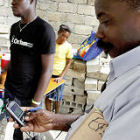 Mobile phone use in Haiti 2010