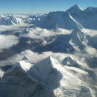 Mount Everest and the Himalayes