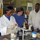 Laboratory in Kenya