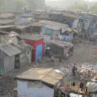 Dharavi slum, India