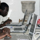 Internet users in Africa