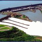 Dams release greenhouse gases