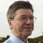 Jeffrey Sachs on a visit