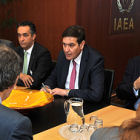 JAEC's Khaled Toukan in talks with the IAEA