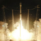 Lift off, Credit: ESA–S. Corvaja, 2013