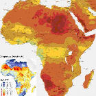 Map of Solar Electricity Potential in Africa