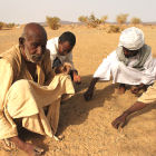 Men in the Sahel region, Africa