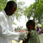 Meningitis vaccinations, West Africa
