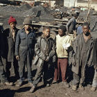 Young mineworkers in South Africa