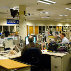 A newsroom
