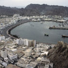 The city of Muttrah, Oman