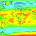 Photovoltaic energy potential map