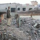 Damage after 2005 earthquake in Pakistan
