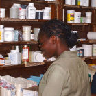 A pharmacy in Nigeria
