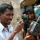 Transistor radios distributed in Sri Lanka