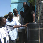 Rainwater harvesting in Kenya