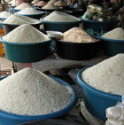 Rice at Talat Phosy Market