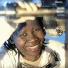 Mmantsae Diale, a University of Pretoria physics PhD student and part of the new generation of home-grown scientists