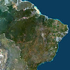 A satellite image