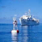 Ocean-climate buoy in the tropical Pacific