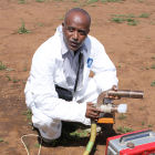 Scientist in Africa