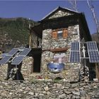 Off-grid solar panels in Nepal