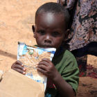 A child during the Horn of Africa drought in 2011
