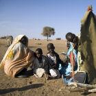 Des refugiés soudanais