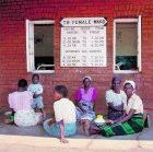 Women outside TB ward in Malawi