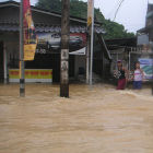 A flood in Thailand