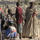 Villagers in Africa