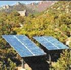 A community solar power project near Abbottabad in Pakistan