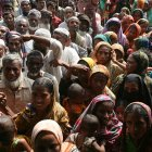Bangladesh cyclone victims, after Cyclone Sidr.